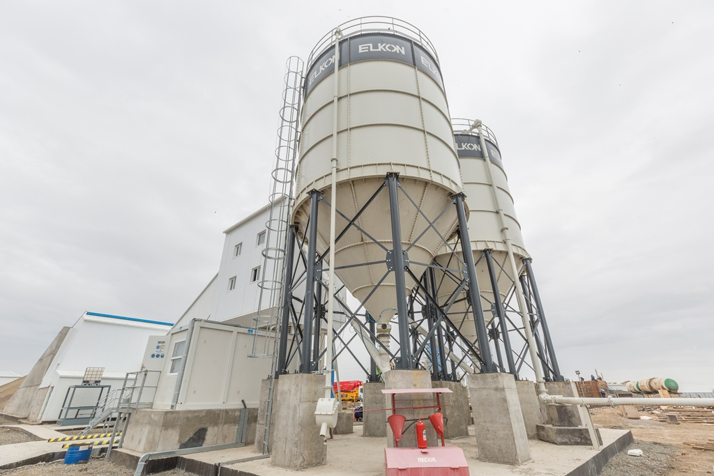 НСС запустил новый бетонный завод «Дәулет»