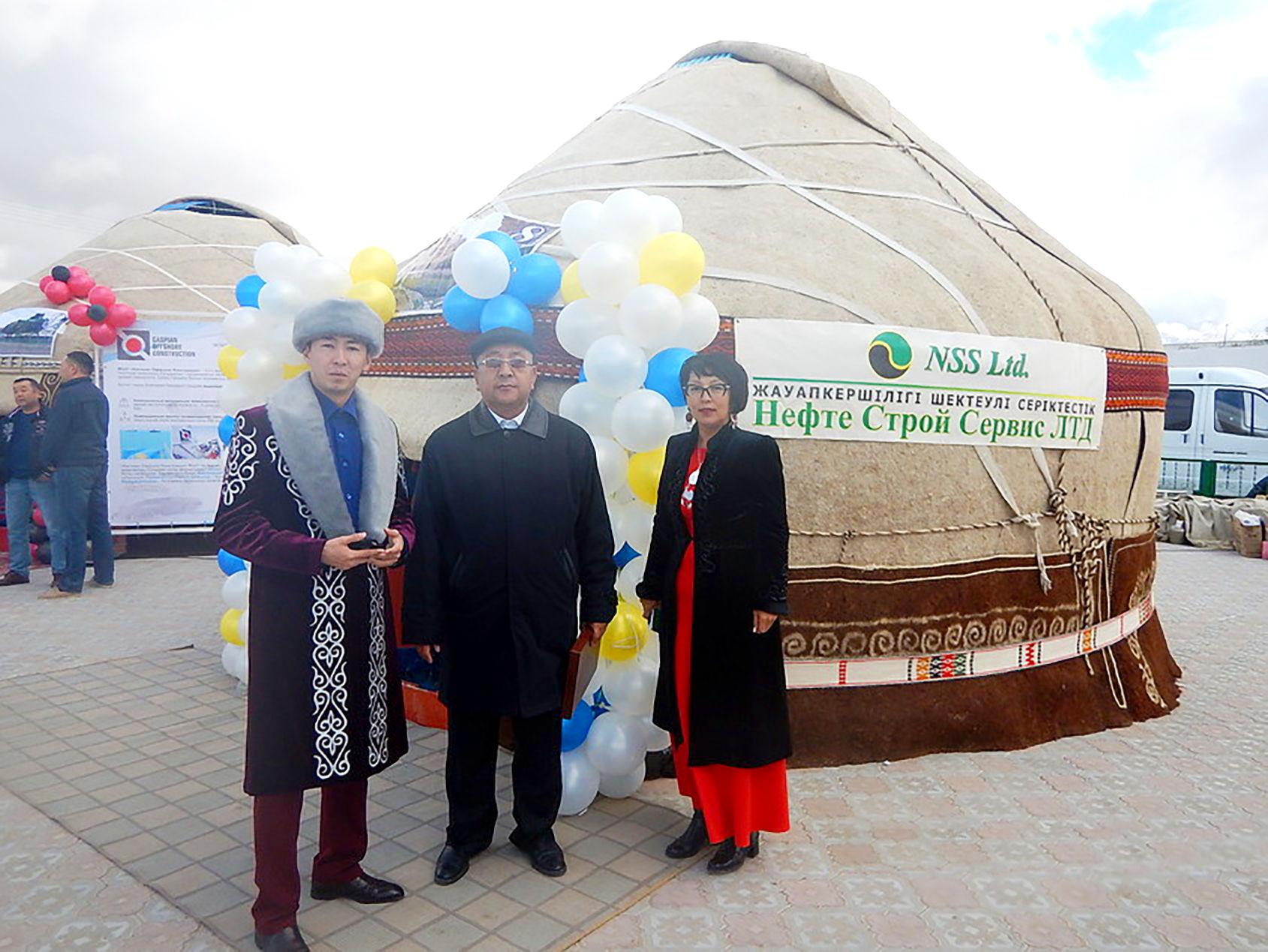 Празднование 170-летия города Форт-Шевченко