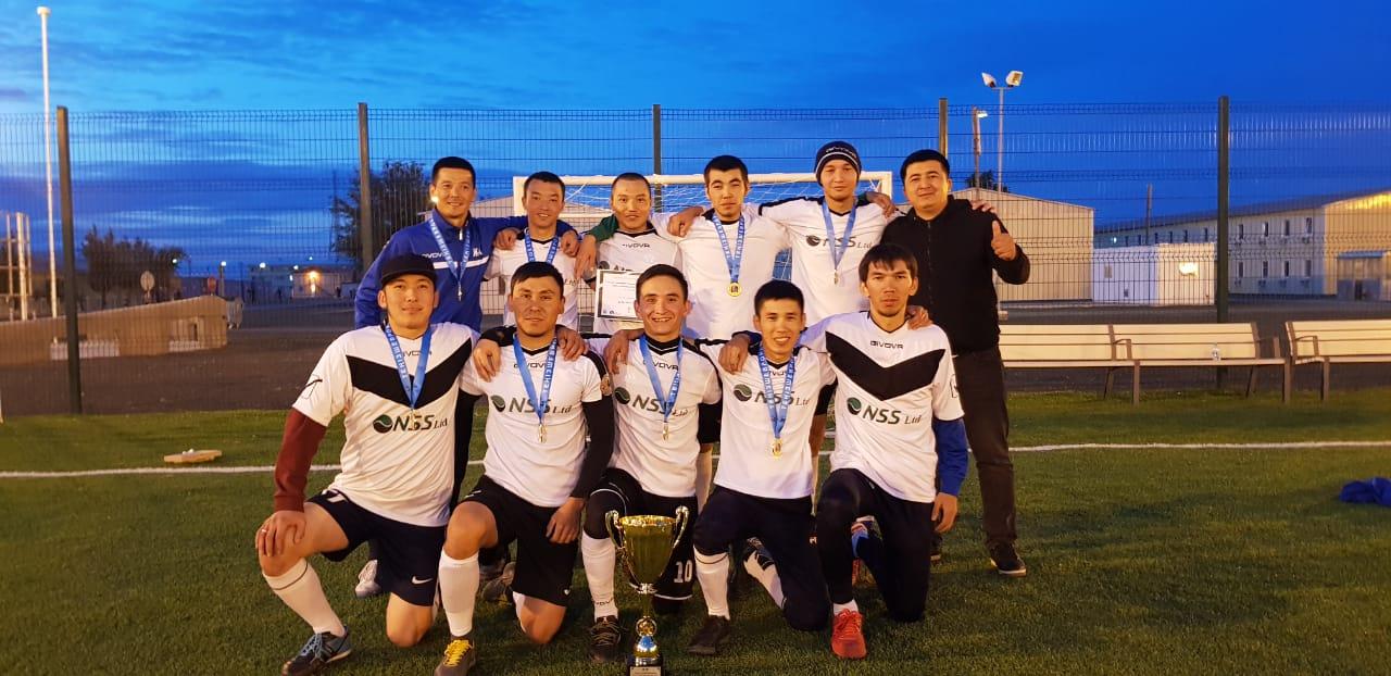 ФК NSS стал победителем турниров, посвященных 120-летию казахстанской нефти.