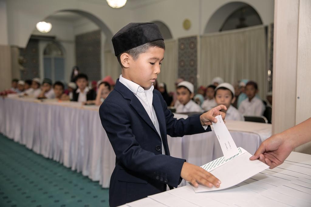 Конкурс чтецов Корана среди детей, посвященный памяти Сулеймена Акдрашева