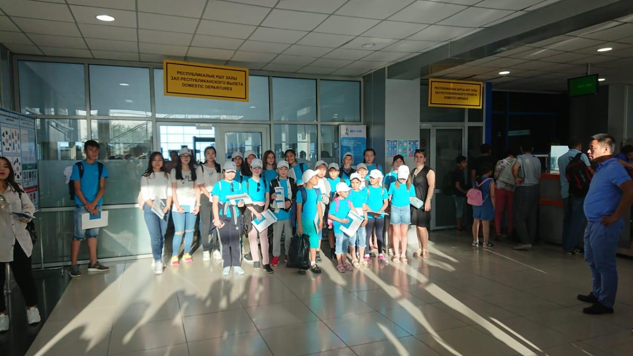 Летние лагеря для детей сотрудников НСС