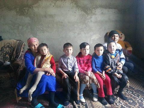 Помощь семье Рахмановых