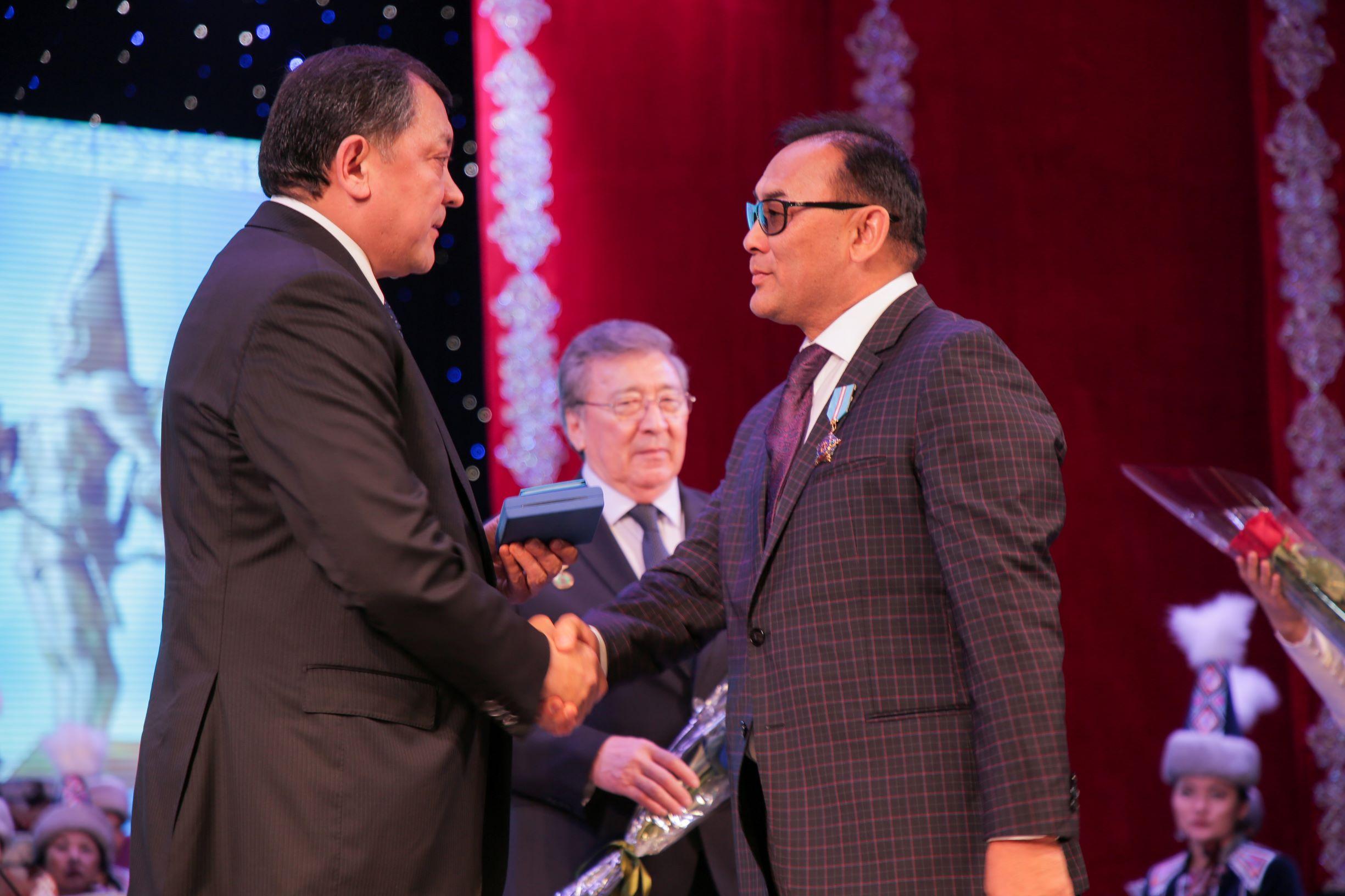Ибрагим Акдрашев награжден орденом «Курмет»